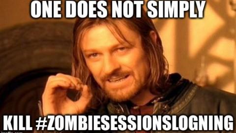 Sessionslogning sat på pause
